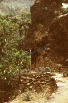 Cave, home of ascetics (Iconographic document)