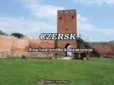 Czersk : analysis