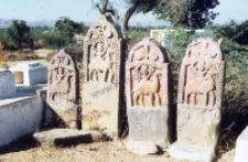 Memorial stones (paliya) (Iconographic document)