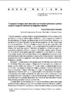 The magical Rhodopes. Some observations on the book Synkretyzm a podziałyreligijne w bułgarskich Rodopach, Magdalena Lubańska : [recenzje]