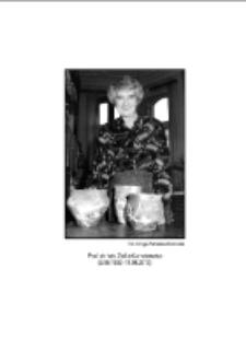 Profesor dr hab. Zofia Kurnatowska (9.06.1932–11.08.2013) = Professor Dr. Zofia Kurnatowska (9.06.1932–11.08.2013)