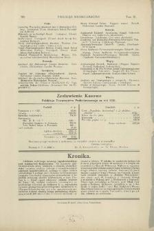 Zestawienia kasowe Polskiego Towarzystwa Prehistorycznego za rok 1926