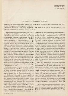 Die Geweihverarbeitung in Haithabu, I. Ulbricht, Neumünster 1978 : [recenzja]