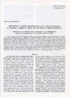 Przyczyny i formy recepcji rytuału szkieletowego u Słowian nadbałtyckich we wczesnym średniowieczu
