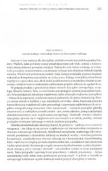 Komentarze do artykułu Pawła Krzyworzeki i Olgi Rodak