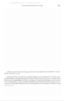 La huełla arabe en el Peru, pod redakcją Leyli Barret i Farida Kahhata, Lima 2011