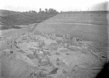 Stanowisko Horodok II : widok ogólny na odcinki XI-XIII