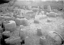 Stanowisko Horodok II : widok na zawartość kulturową odcinków XI-XIII