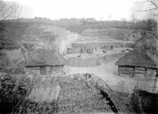 Stanowisko Horodok II : widok ogólny na miejsce rozkopywań 1926