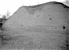 Stanowisko Horodok II : profil ściany wykopu w kierunku SWW-NEE (południowo zachodni-pólnocno wschodni)