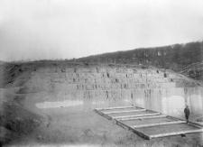 Stanowisko Horodok II : stan zachowania odcinków XIV i XV po okresie zimowym w kwietniu 1926