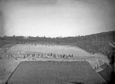 Stanowisko Horodok II : widok ogólny na miejsce rozkopywań