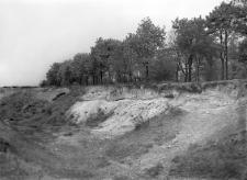 Poznań - Szeląg : widok na część wykopu dawnej żwirówki