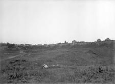 Poznań - Szeląg : widok niemal na całość wykopu dawnej żwirówki (od strony północno-wschodniej)