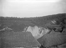 Gródek : widok ogólny na okolicę i teren wykopalisk