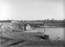 Kraków - Ludwinów : widok na teren wykopu