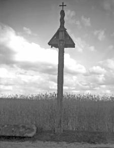Nowogródzkie : przydrożna kapliczka