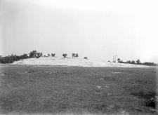 Orońsko, były powiat Szydłowiec : widok na stanowisko od strony południowej