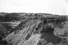 Żydowszczyzna koło Grodna : widok na teren wierceń