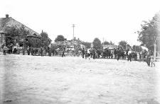 Krasnobrody nad Wieprzem, pow. Tomaszów : główna ulica
