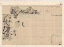 KZG, V 9 C, warstwa 22 : plan konstrukcji drewniano-kamiennych