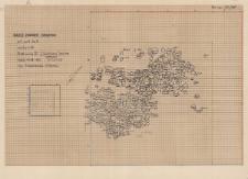 KZG, V 9 C, plan warstwy 20 – II (środkowy) poziom kamieni