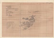KZG, V 9 D, plan kamieni (warstwa 20) – najniższy poziom