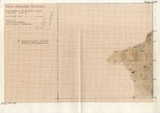 KZG, V 12 D, plan pomiędzy E ściany wykopu a cięciem profilowym. Warstwa 15