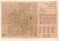 KZG, V 12 D, plan wykopu