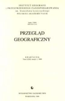 Przegląd Geograficzny T. 71 z. 3 (1999)