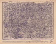 Reihe XI. Blatt 5. Dünaburg (Dwinßk) : Gouvernement Kowno, Kurland u. Witebsk