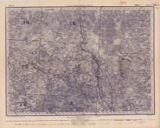 Reihe X. Blatt 5. Illukst : Gouvernement Kowno, Kurland u. Witebsk