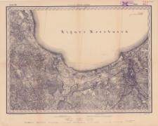 Reihe VIII. Blatt 3. Riga : Gouvernement Kurland u. Livland