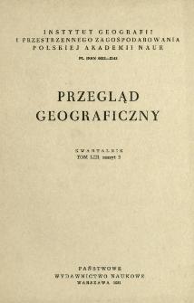 Przegląd Geograficzny T. 53 z. 2 (1981)