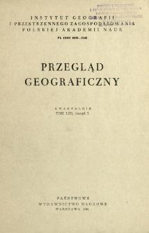 Przegląd Geograficzny T. 53 z. 1 (1981)