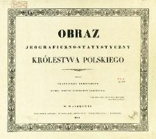 Obraz jeograficzno-statystyczny Królestwa Polskiego
