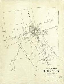 Plan der Stadt Lentschütz : nach dem Plan von Lentschütz 1:5 000