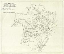 Plan der Stadt Tomaschow : nach dem Plan Tomaschow-Maz 1:10 000