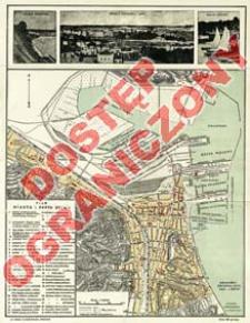 Plan miasta i portu Gdynia