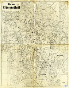 Plan von Litzmannstadt