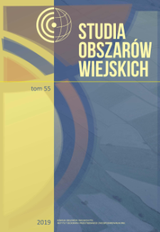 Przestrzenne aspekty suburbanizacji w wybranych gminach wiejskich Białostockiego Obszaru Funkcjonalnego = Spatial aspects of suburbanization in selected rural communes of the Białystok Functional Urban Area