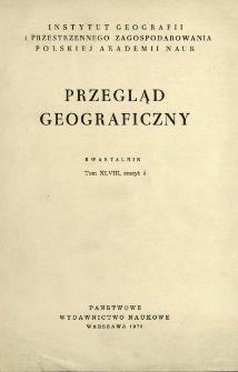 Przegląd Geograficzny T. 48 z. 4 (1976)