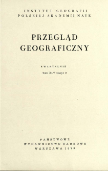 Przegląd Geograficzny T. 45 z. 2 (1973)