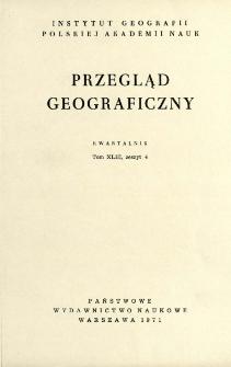 Przegląd Geograficzny T. 43 z. 4 (1971)