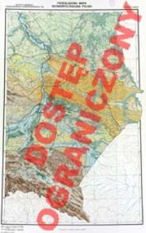 Przeglądowa mapa geomorfologiczna Polski : 1:500 000. Arkusz Lublin