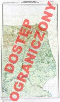 Przeglądowa mapa geomorfologiczna Polski : 1:500 000. Arkusz Warszawa
