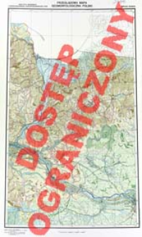 Przeglądowa mapa geomorfologiczna Polski : 1:500 000. Arkusz Gdańsk