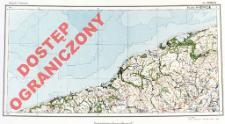 Przeglądowa mapa hydrograficzna Polski : 1:500 000. Ark. Koszalin