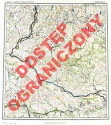 Przeglądowa mapa hydrograficzna Polski : 1:500 000. Ark. Warszawa-Zachód