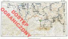 Przeglądowa mapa hydrograficzna Polski : 1:500 000. Ark. Cieszyn